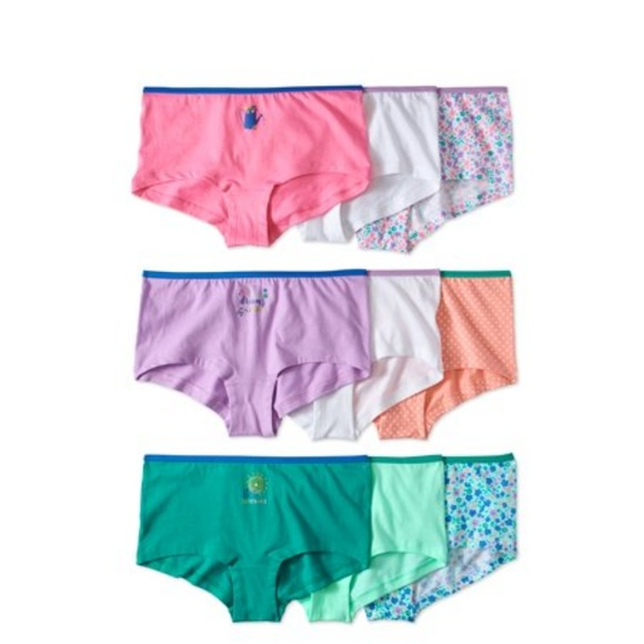 a3e4f15a7913 Girls' Boy Shorts 7 Pack Soft Panties. Wonder Nation.  M_5c48851b8ad2f9d6475c0620. M_5c48851d2beb791e6c00fad6